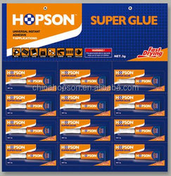 12pcs/card Aluminum Tube Super Glue