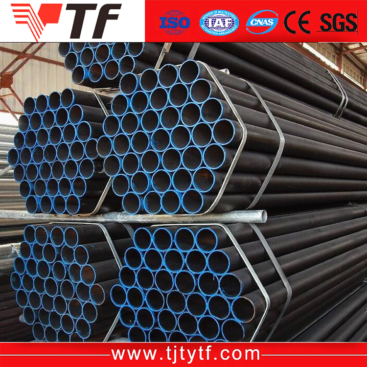 Hot Rolled And Cold Drawn ASTM A106 A53 carbon steel seamless pipe