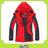 custom mountain climbing red windproof fold up jackets