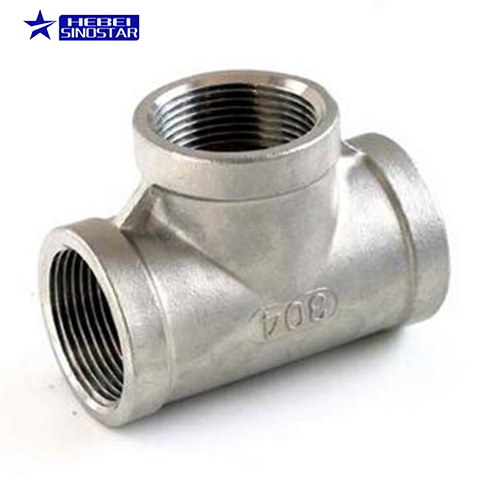 China manufacturer custom stainless steel tube equal tee