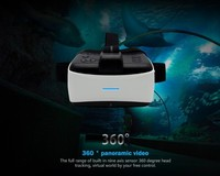 2016 Newest 3D VR Virtual Reality Headset 3D Movie Game Glasses Adjust Cardboard VR ALL IN ONE 3D VR BOX