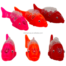 Party Favor Battery Powered LED Plastic Robo Fish Toy