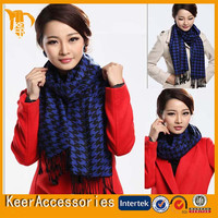 2015 Cheap Women fashion New Design Lady woven scarf/cape