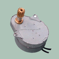230v 50/60hz AC 24v 12v DC Permanent Magnet Hysteresis Gear Synchronous Motor For Timer Switch Microwave Oven Valve