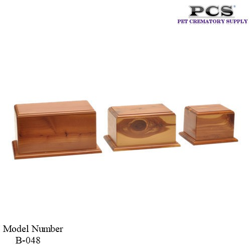 MKY Cedar Wooden Urns for Ashes