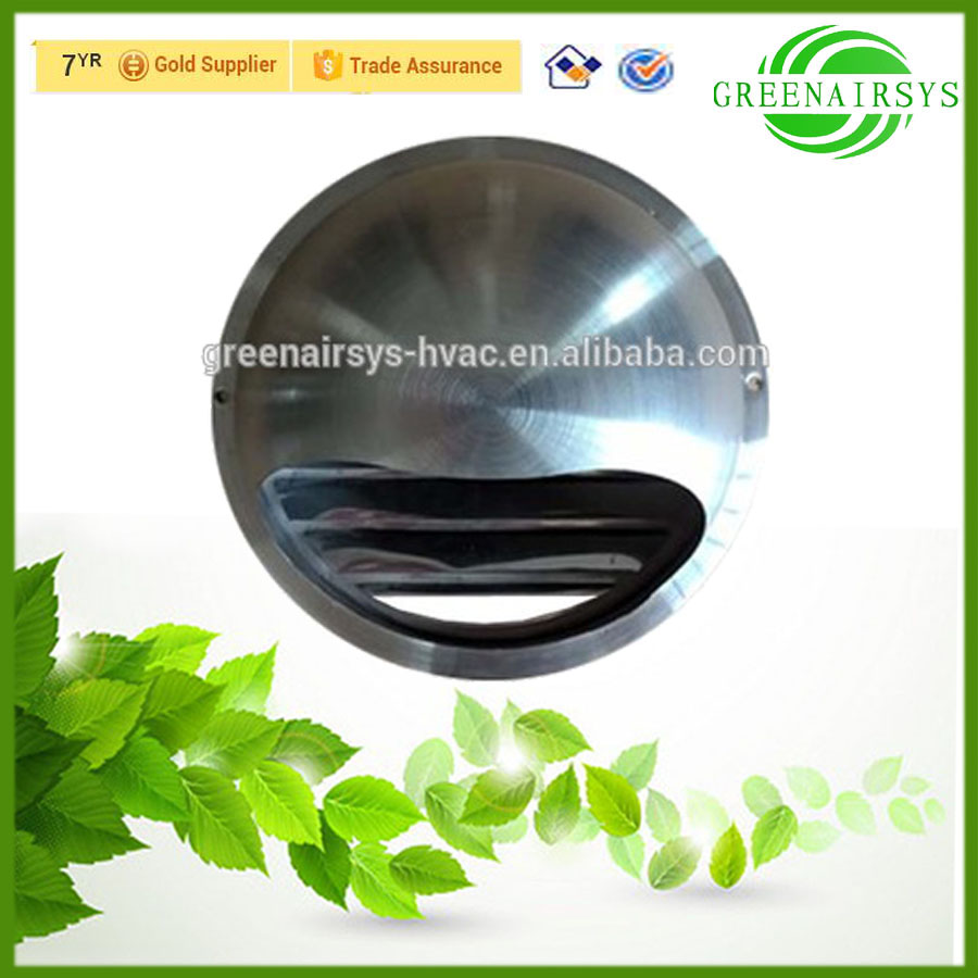 Air Conditioning Stainless Steel Waterproof Round Mushroom Exhaust Air Vent Cap for Kitchen Smoke Exhaust Ventilation