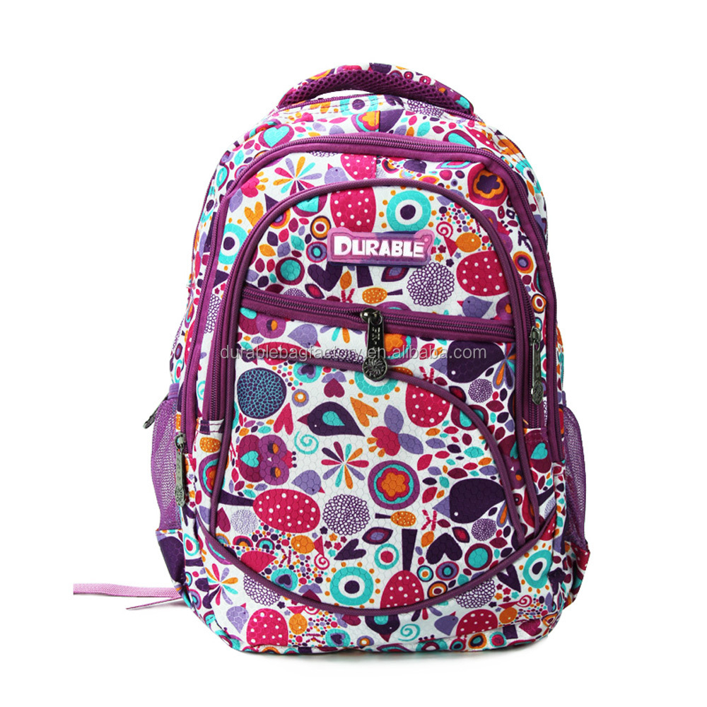 2016 hot selling school backpack, backpack bag