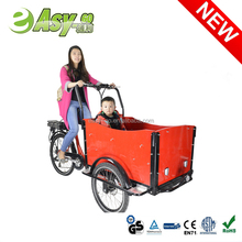 2015 new easy-go 3 wheel kids' electric tricycle cargo bike past CE certificate hot on sale