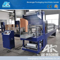 Automatic Plastic Film Bottle Heat Shrink Packing Machine