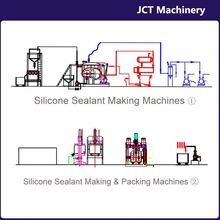 machine for making concrete and masonry silicone caulk