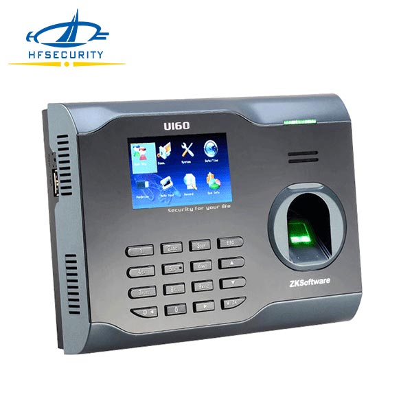 Beautiful Design LCD Display TCP/IP Communication Setting Time Recorder(U160)