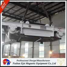 RCYD-5 overband NEW MAGNET SEPARATOR IRON BELT TYPE for dolomite sand