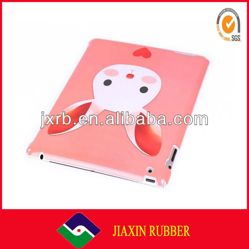 2013 Off-set Printing Silicone Case for Ipad