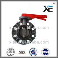 China PVC Butterfly Valve/Lever Type /150psi