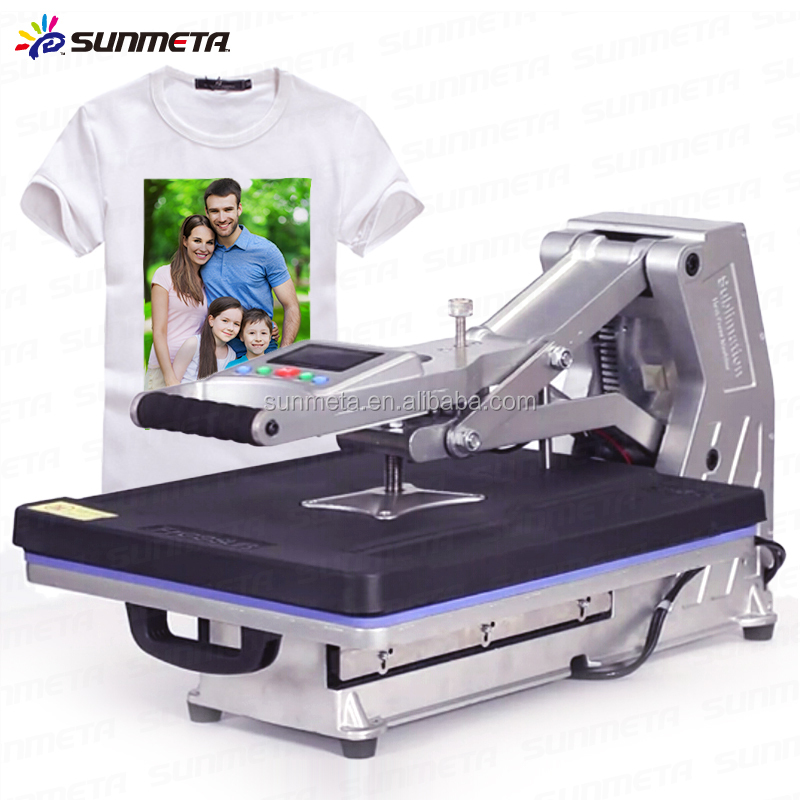 Sunmeta 2015 New Drawer Type Hydraulic T Shirt Sublimation