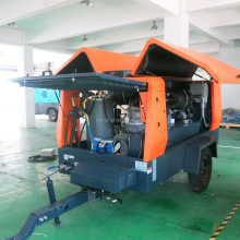 Sand blasting use air compressor with MAN filter!