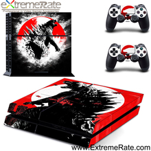Sticker cover for Playstation 4 console skin for PS4 skin decal faceplate