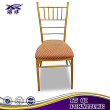 Factory wholesale gold tiffany chair for wedding event party