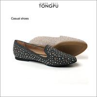 Italian shoes and bags to match women slip on casual shoes ladies