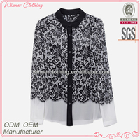 Latest designs high quality best price newest fashion blouse for muslim women