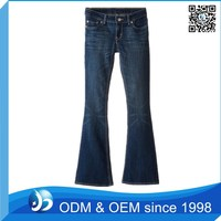 Factory Price Cheap Flared Jeans In India For Tall Women