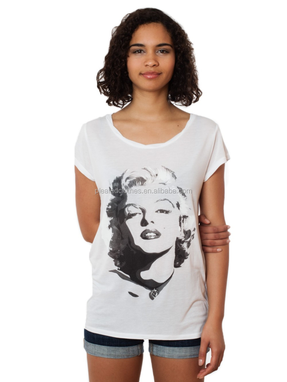 Brand new latest shirt designs for women wholesales