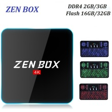 Amlogic S912 ZEN Box Z2 Andriod TV Box 2GB 16GB 4K KODI Ultra HD TV BOX