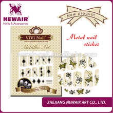 New product hot sale 3d metal printer for sale nail art sticker designs