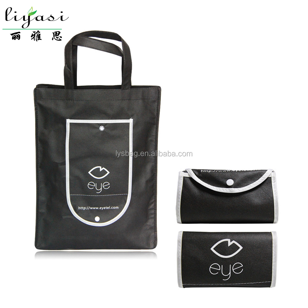 Recycled Nonwoven Foldable Bag TNT Shopper Bag