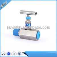 "1/4"",3/8"",1/2"",3/4""NPT hexagonal bar stock needle valve,316,304,Monel 400,Alloy C-276"