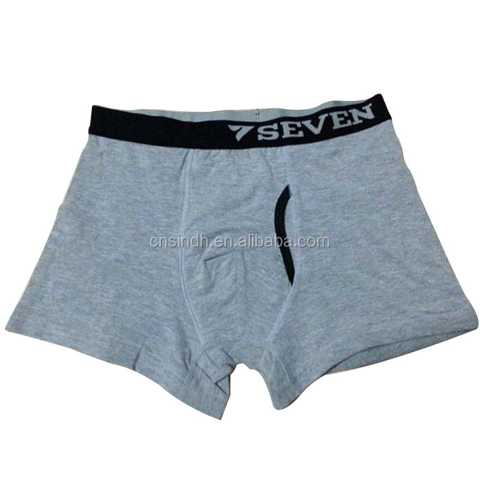 solid color men's boxers man basic boxers