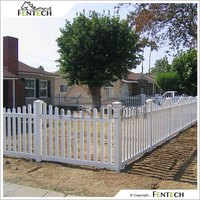High Quality Cheap Durable Garden Vinyl Fence for PVC/Vinly/Plastic Fence Manufactuer