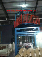 pvc heat shrinkable film blown film extrusion machine printing