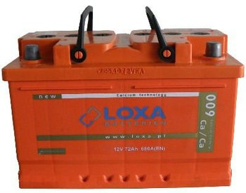 55Ah/480A LOXA Car Battery