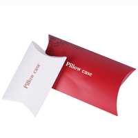 Luxury kraft pillow box packaging wholesale handmade soap boxes