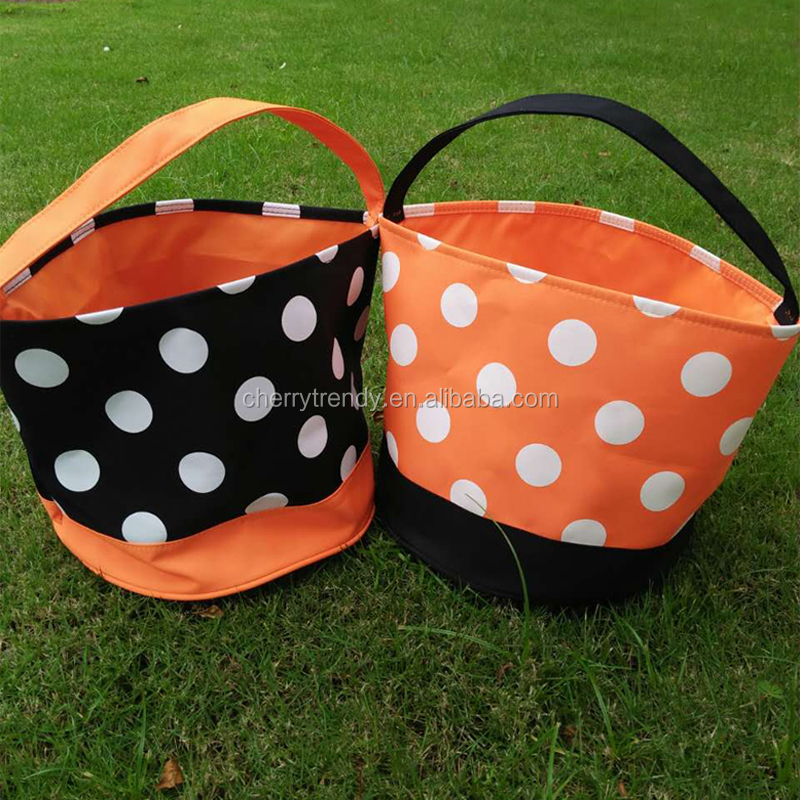 Halloween Buckets Tote Bag Halloween Gift Collection Bag