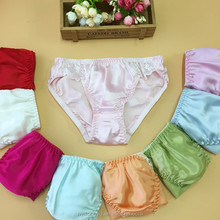 100% silk plus size panties for women sbyuan silk lace patched solid color women panties