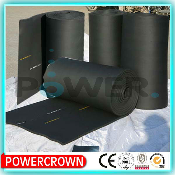 rubber foam insulation roll