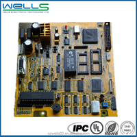 copper clad laminate fr4 printed circuit board factory