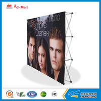 New Trade Show the exhibition booth/Folding outdoor Curve pop up stand