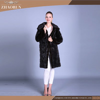 China Wholesale High Quality Mink Fur Coat Natural Lady Coat
