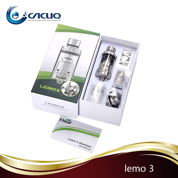 Eleaf Lemo 3 Rebuildable Atomizer 3.8 ml Huge Lemo 3 Lemo v3 Vs Subtank Mini Bell Cap