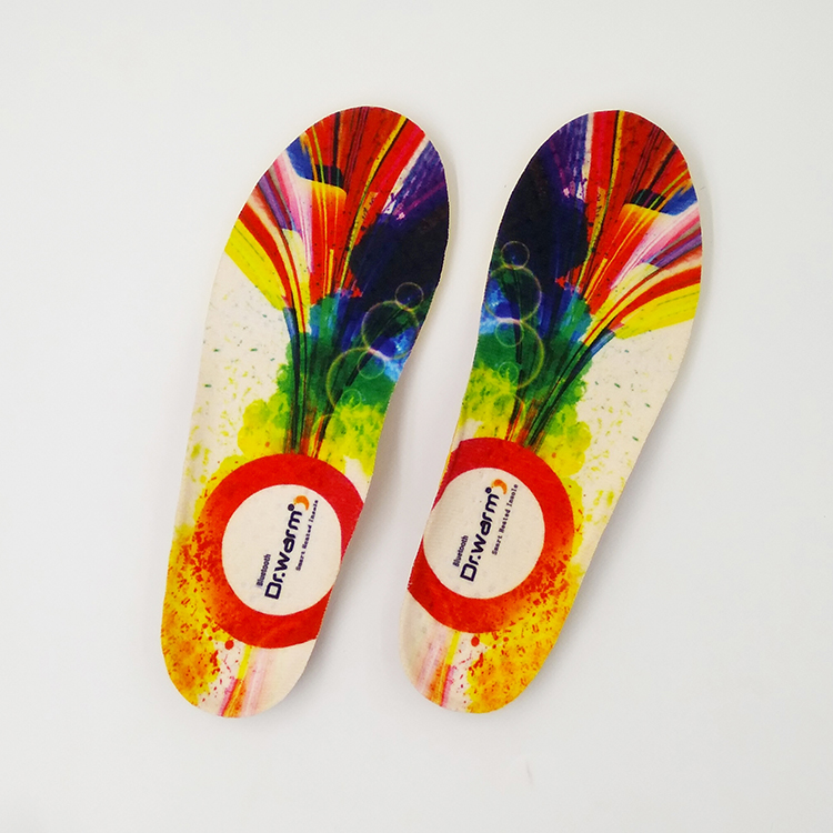 New style wireless control warm heated insoles with remote