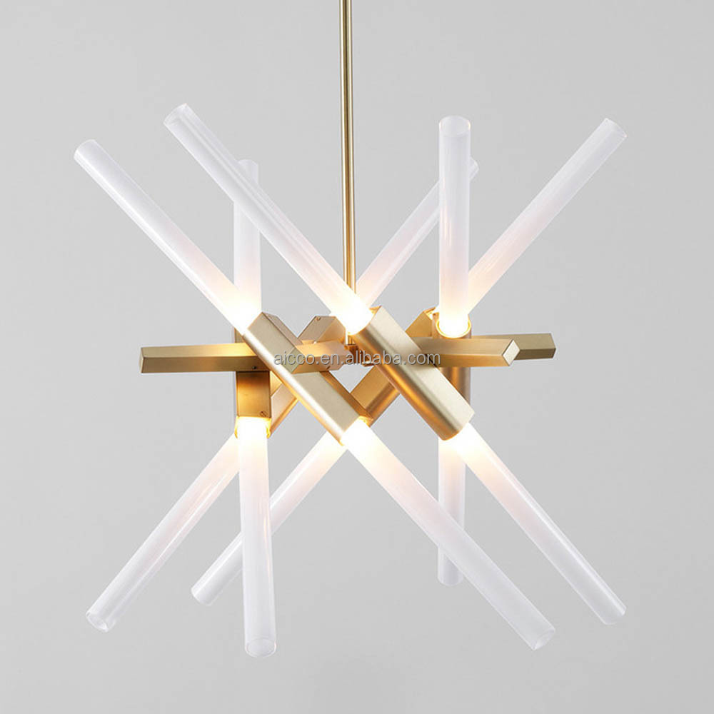 Modern Glass Pendant Light Decorative Hanging Pendant