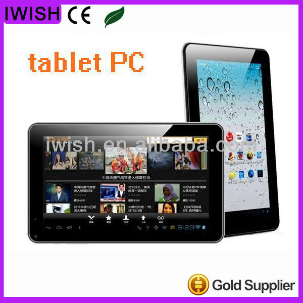9 inch android 4.0 free 3d games tablet pc