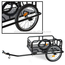 Advertising bike trailer fold trailer bicycle for cargo transportation on sale