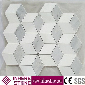 Marble mosaic factory direct and installing mosaic wall tile