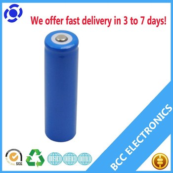 Lifepo4 battery cell 3.2V ifr 18650 li-ion batteries 1400mAh