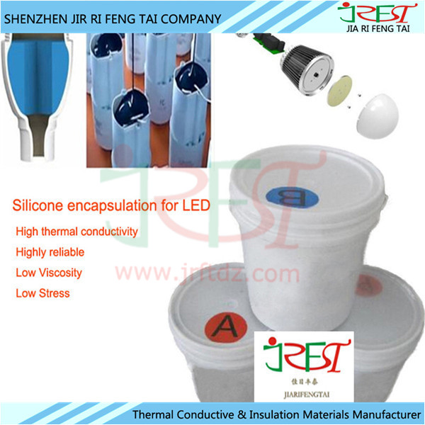 Silicone Encapsulant Sealant Thermal Conductive Glue For LED/Solar Panels / Solar Cells