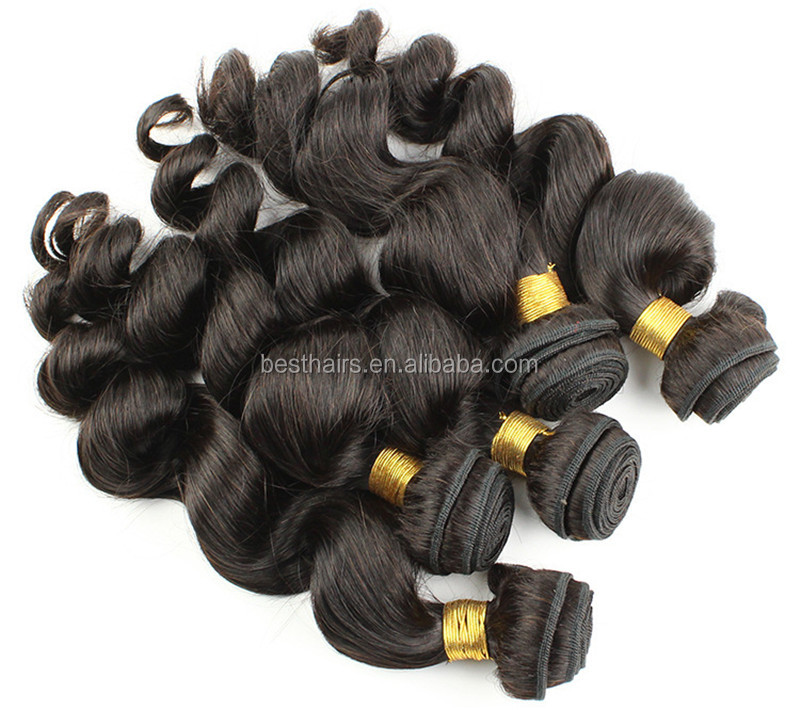 Chinese hair New Arrival Beautiful hair,100% human virgin hair extension loose wave texture